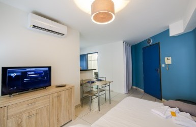 Studio-apartment, Résidence Saint Barth, Saint Denis town centre