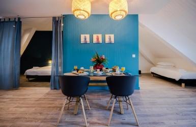 FLAT 3 ROOMS BLEU DES ROCHES NOIRES